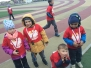 Udział przedszkolaków w III Biegu Papieskim