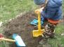 Wiosenne porządki w naszym ogródku